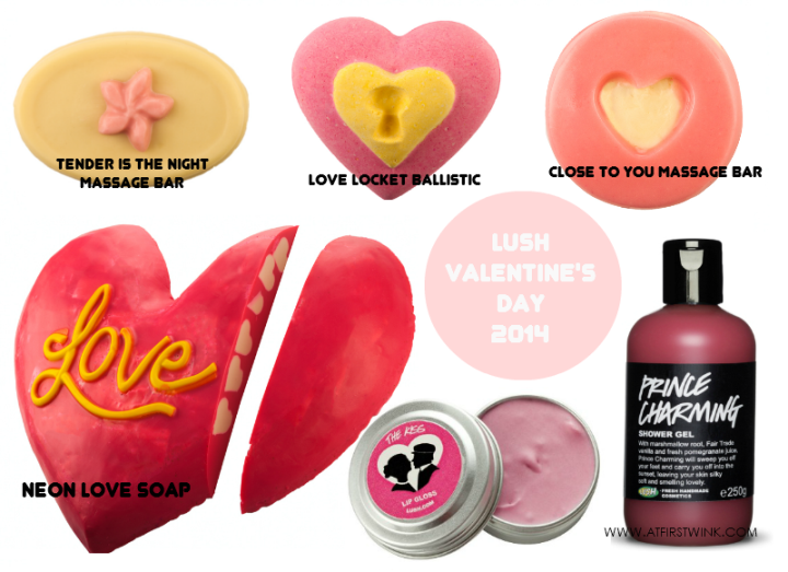LUSH Valentine's Day 2014 collection