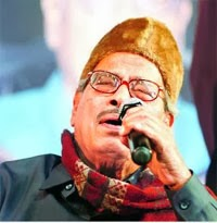 The film playback singer, recipient of the Dada Saheb Phalke Award Manna Dey