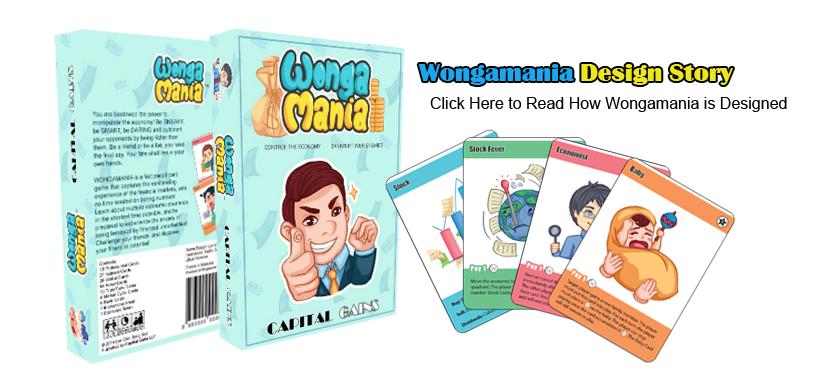 Wongamania Design Diary