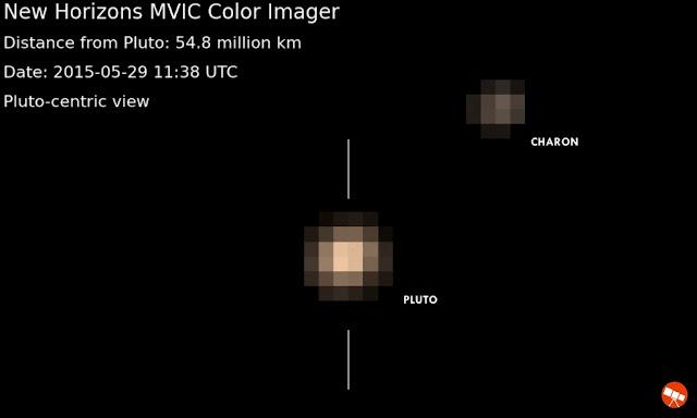 New Horizons Memotret Citra Berwarna Pluto untuk Pertama Kalinya!