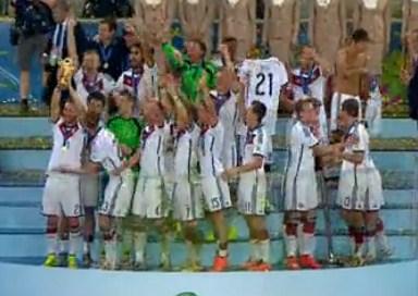 Jerman Sang Juara Piala Dunia 2014