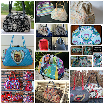 Companion Carpet Bag by Sewing Patterns by Mrs H - January Finalists