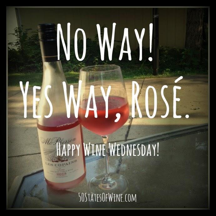Wine Wednesday: Yes Way Rosé