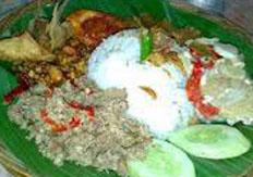 Resep praktis (mudah) nasi megono spesial (istimewa) khas pekalongan enak, gurih, lezat