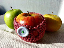 Funda para manzana a crochet