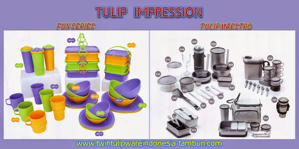 TULIP IMPRESSION - Katalog Twin Tulipware 2014