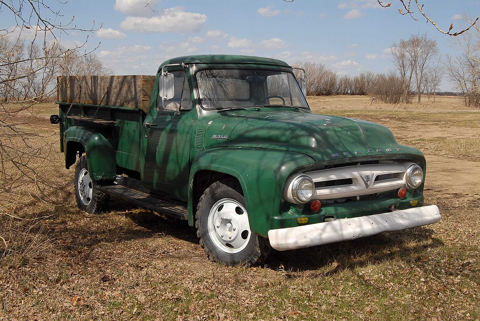autoliterate: 1955 Mercury M-350 and other one-ton pickups for sale