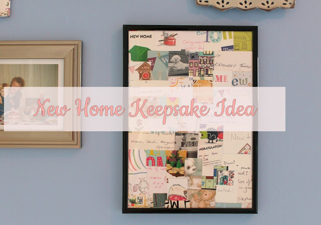 New Home Keepsake Idea - Collage Crafts