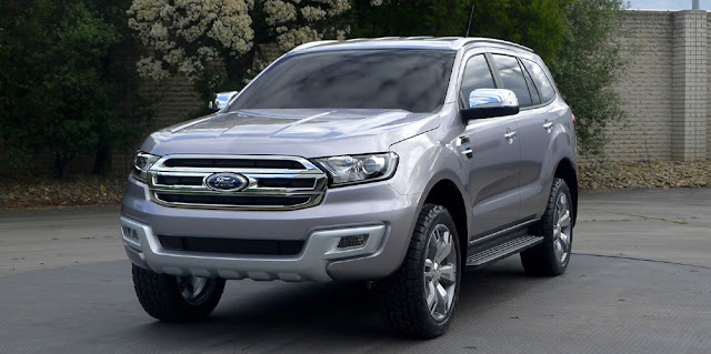 ford everest%2B2016 Bảng màu xe Ford Everest 2017