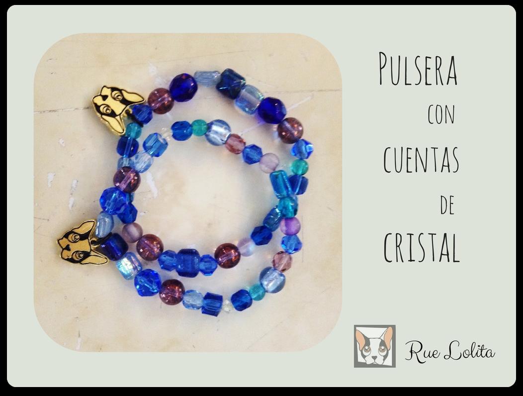 Pulsera con cuentas de cristal Rue Lolita