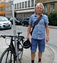 Besøg af booker Peter Hvalkof. 18. juni 2020