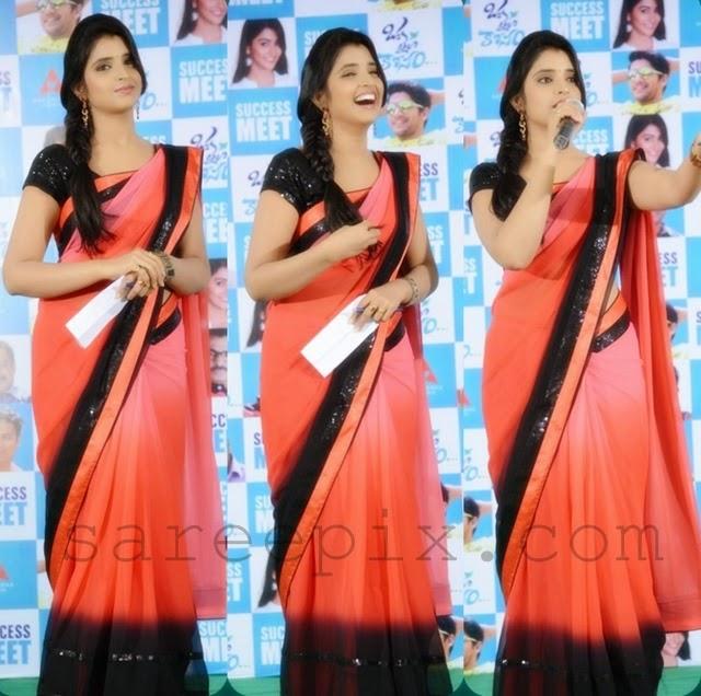 Anchor-Shyamala-saree-Oka-laila-kosam-success-meet