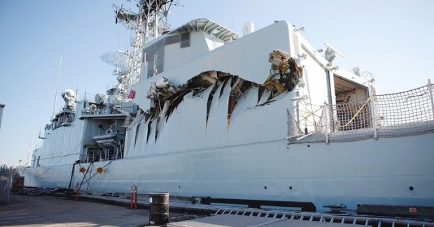 Naval Open Source INTelligence: Navy ship crash ...