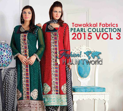 Tawakkal Fabrics Pearl Collection 2015 Vol-1 For Spring Summer Season