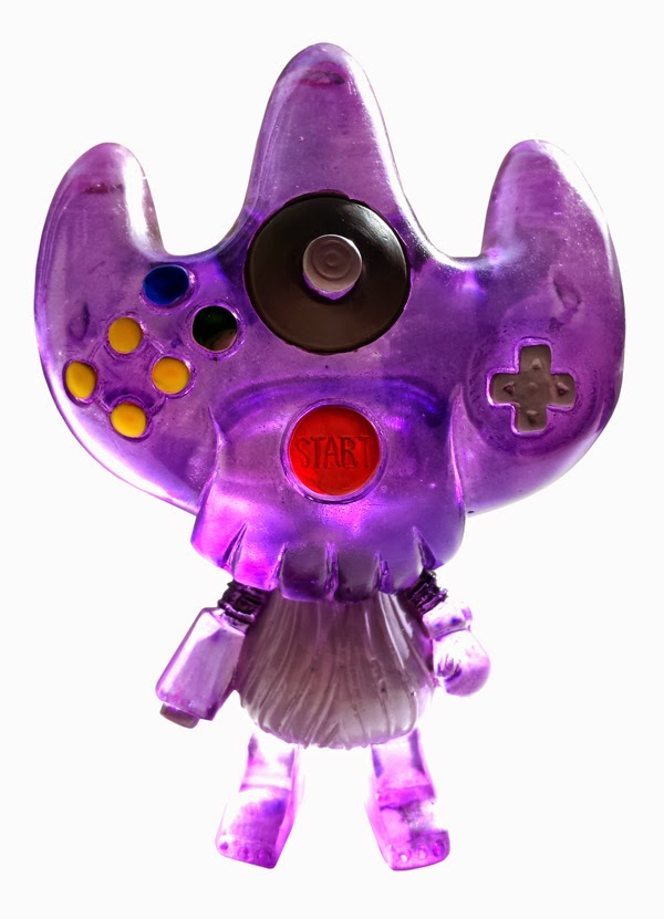 "ESC Toy - ""Clear Purple"" 6Null4 Resin Figure by Erick Scarecrow"