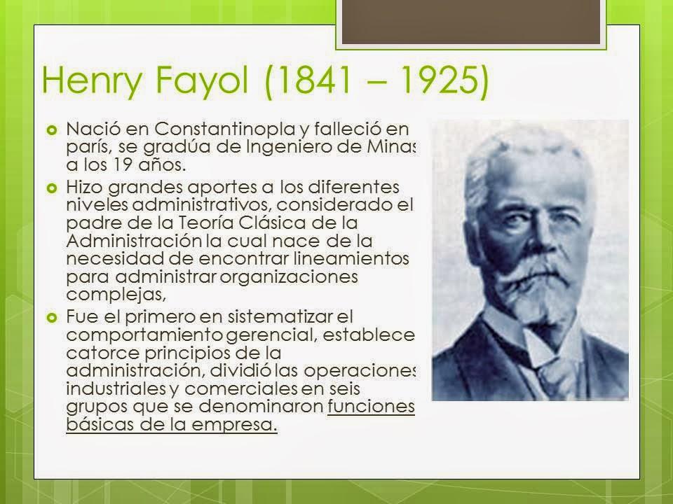 essay on henry fayol Explain and analyze henri fayol's principles of management essay by syt0311, university explain and analyze henri fayol's principles of management.