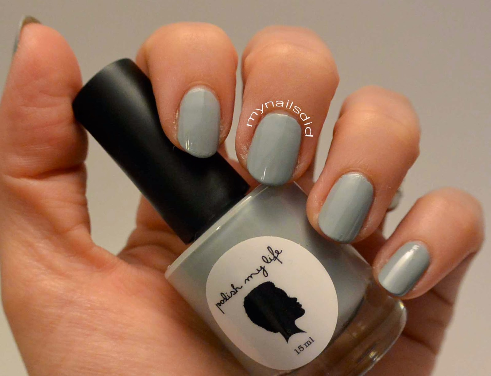 "My Nails Did: Polish My Life swatches ""Storm Clouds"""