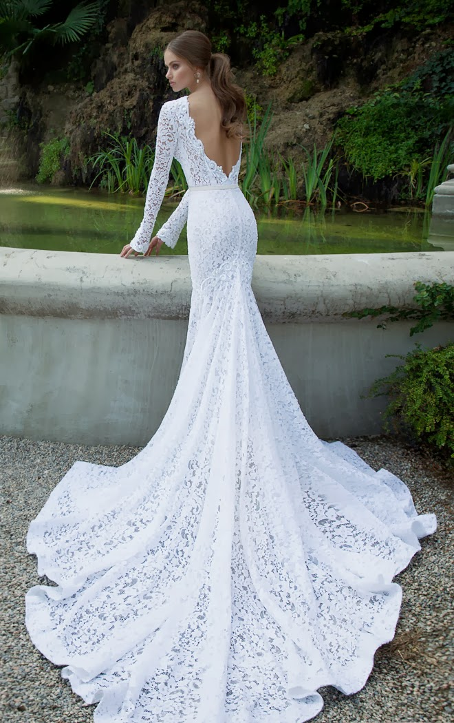 """Berta"" Lace bridal fashion"