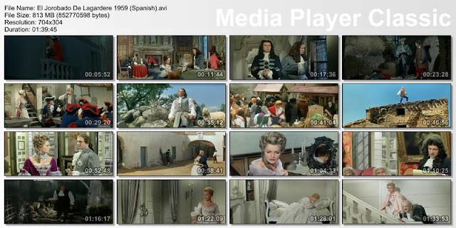 El jorobado (Le bossu) (1959) | Capturas de pantalla