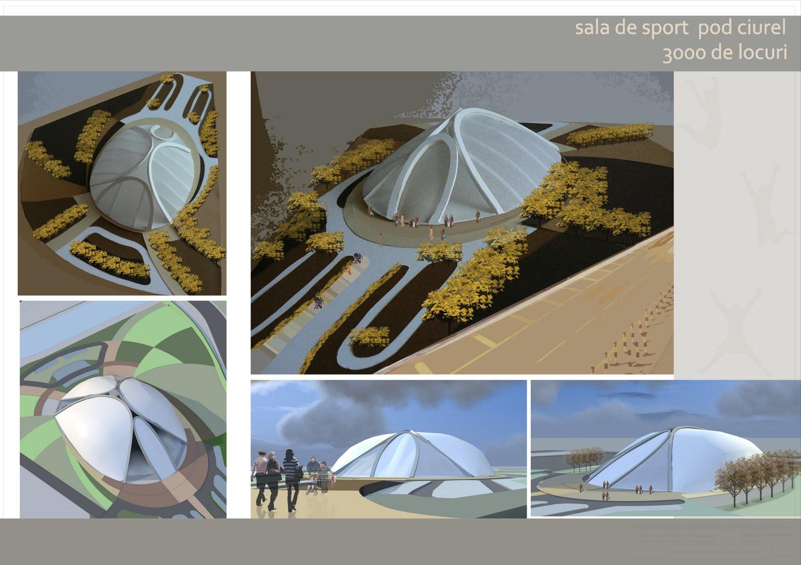 architecture portfolio sala de sport faza 2. Black Bedroom Furniture Sets. Home Design Ideas