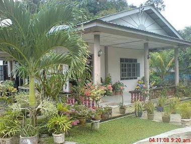 Home sweet home: One of the homestay houses in Kampung Melayu Tebakang.