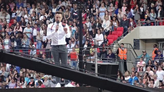 Olly Murs at Capital's Summertime Ball 2015