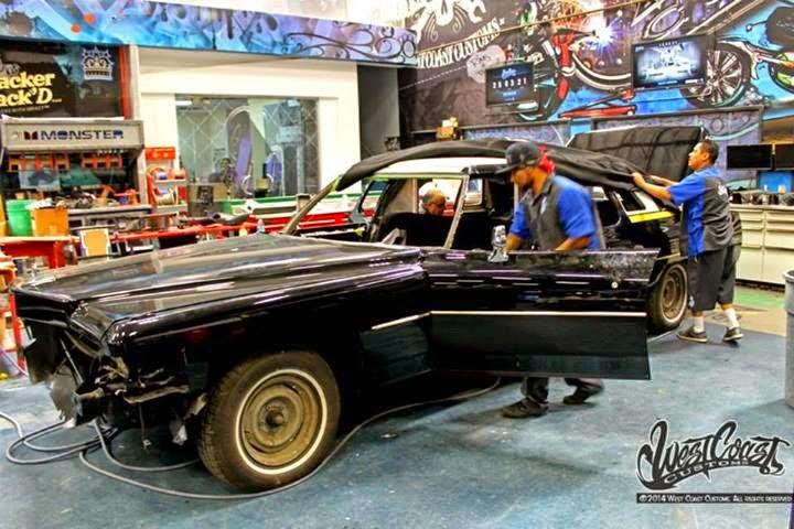 Kid Rock's Custom Cadillac By West Coast Customs