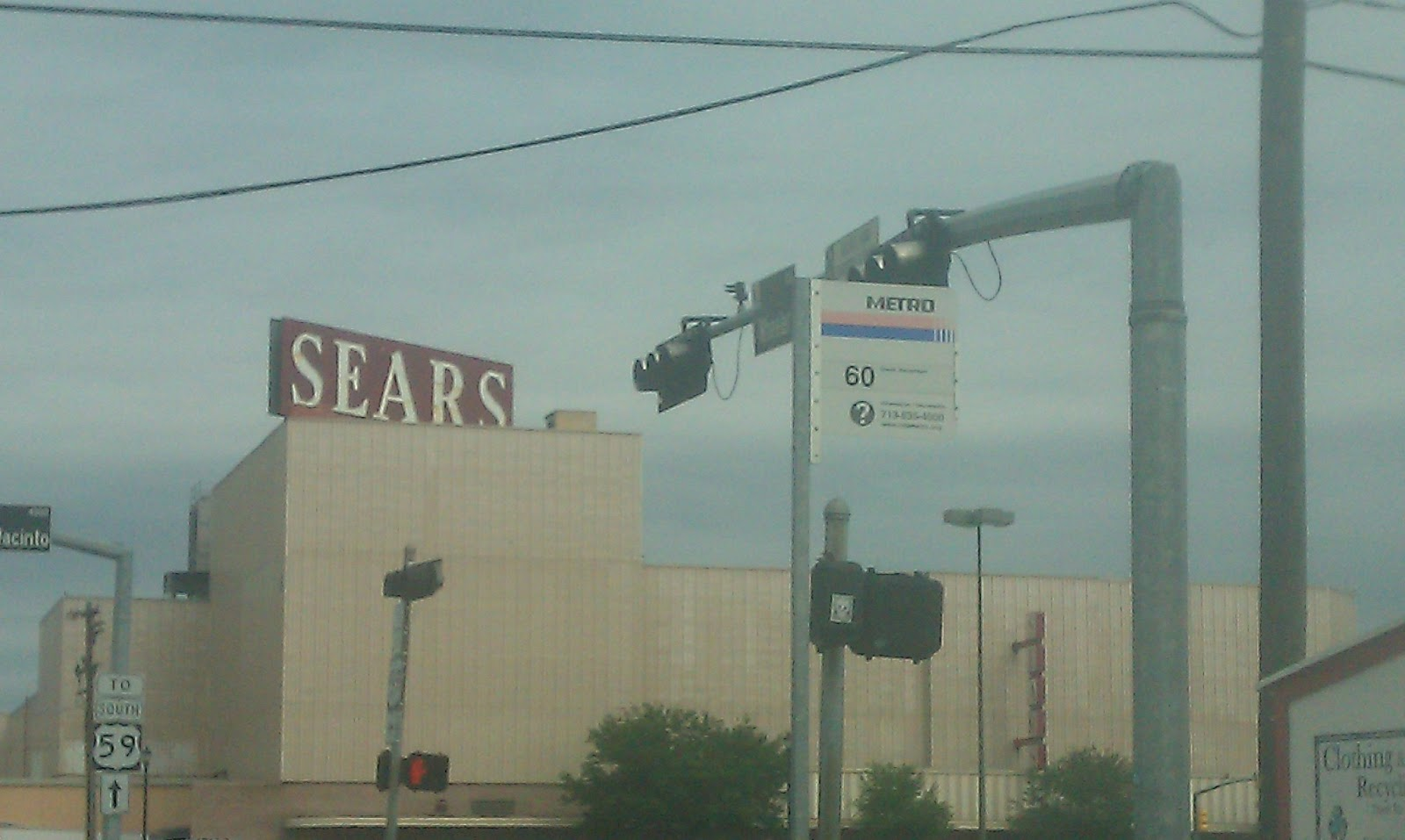Freeway Auto Center >> Louisiana and Texas Southern Malls and Retail: Sears Midtown Houston April 2013