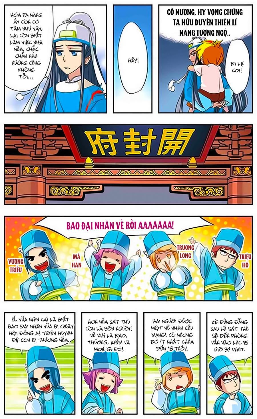 Bao Thanh Thiên Thả Mèo Bắt Chuột Chap 2 - Next Chap 3