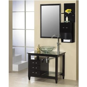 White Bathroom Vanity Design