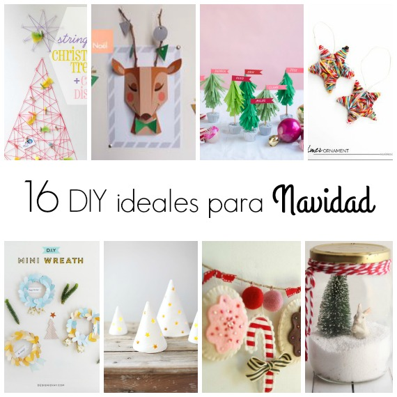16 diy para realizar estas navidades blog f de fifi for Todo ideas originales para decorar