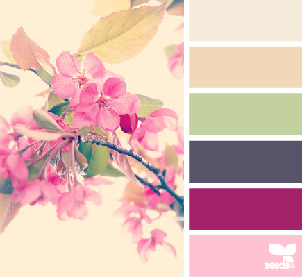 spring inspired design by cuckoo4design