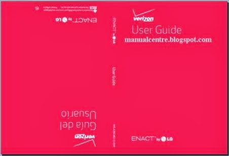 LG Enact VS890 Manual Cover