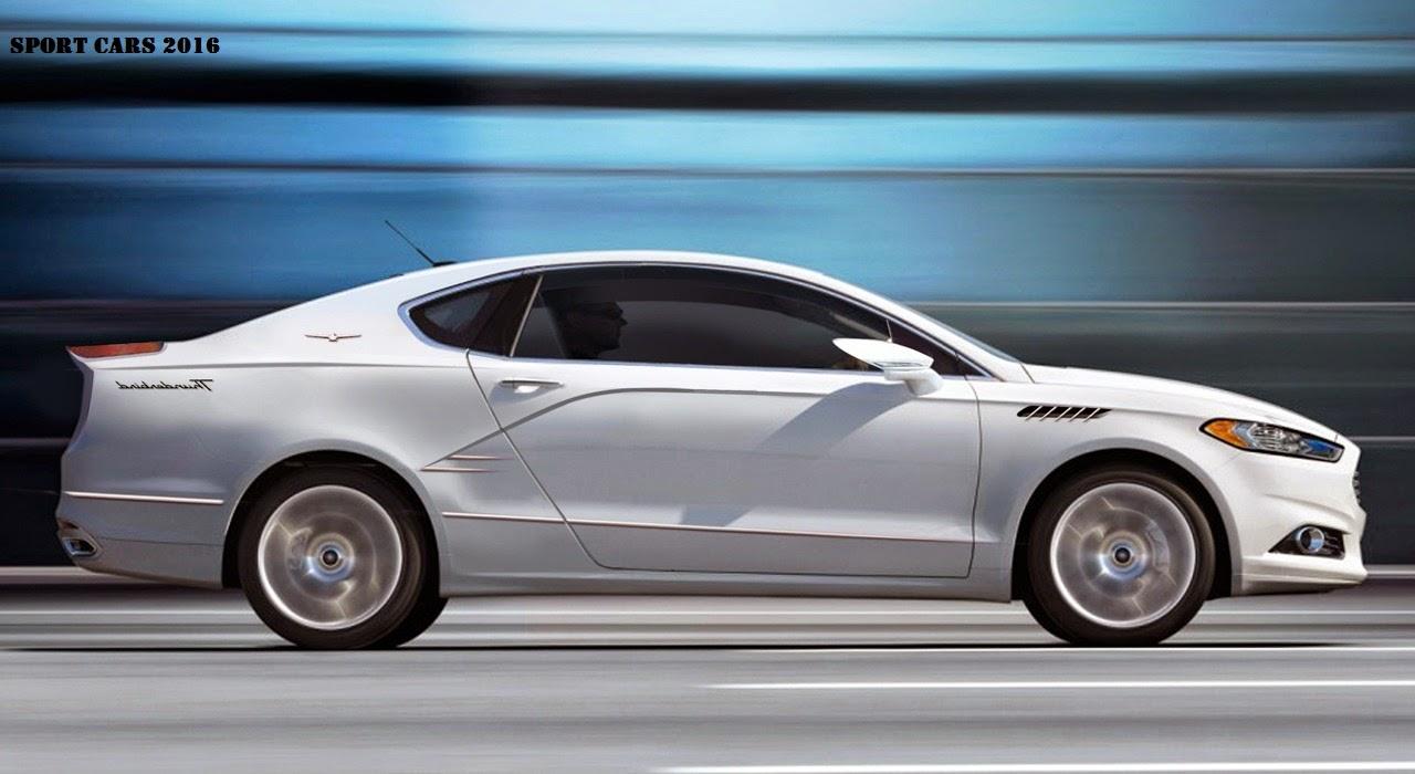 2016 Ford Thunderbird Concept, Interior, Price