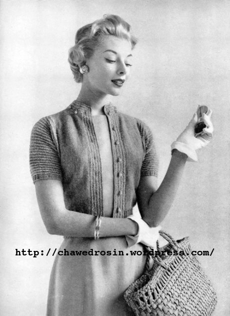 Free Vintage Knitting Patterns 1950s : The Vintage Pattern Files: October 2012