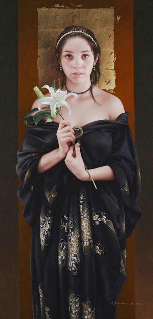 mujeres-pintadas-en-realismo-al-oleo