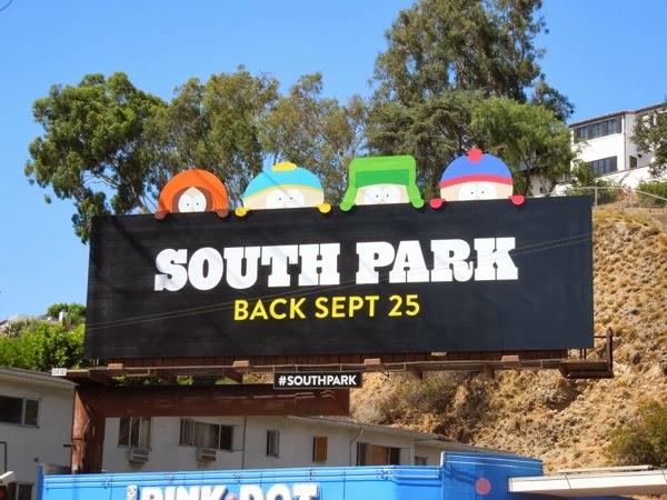 South Park season 17 special extension billboard