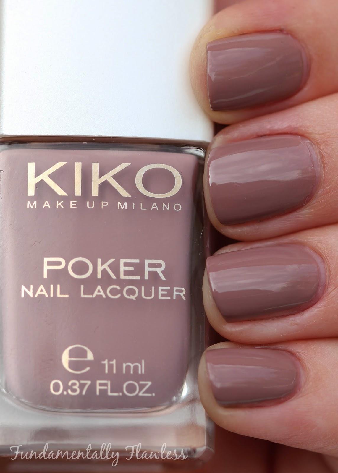 Fundamentally Flawless: Kiko Poker Nail Lacquer from the Daring Game ...