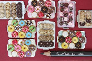 Miniature Donuts and Cookies by Petitplat, Stephanie Kilgast