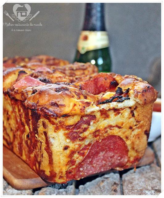 Receita prática de pão de pizza