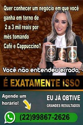 CAFÉ QUE EMAGRECE!!!