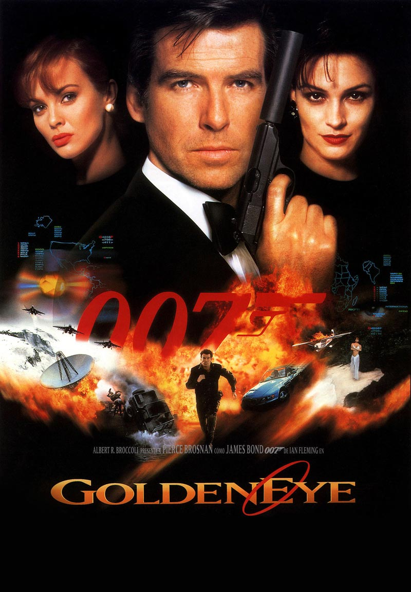 James Bond (007) Goldeneye (1995)