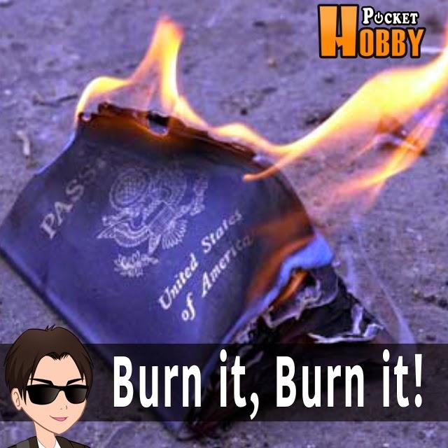 Pocket Hobby - www.pockethobby.com - Hobby Extra - Queime seu passaporte americano