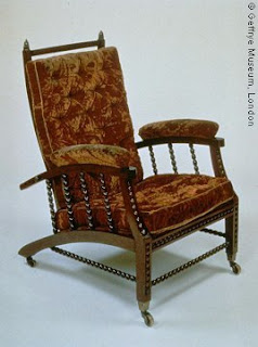 William Morris Chair, Designed By Philip Webb.