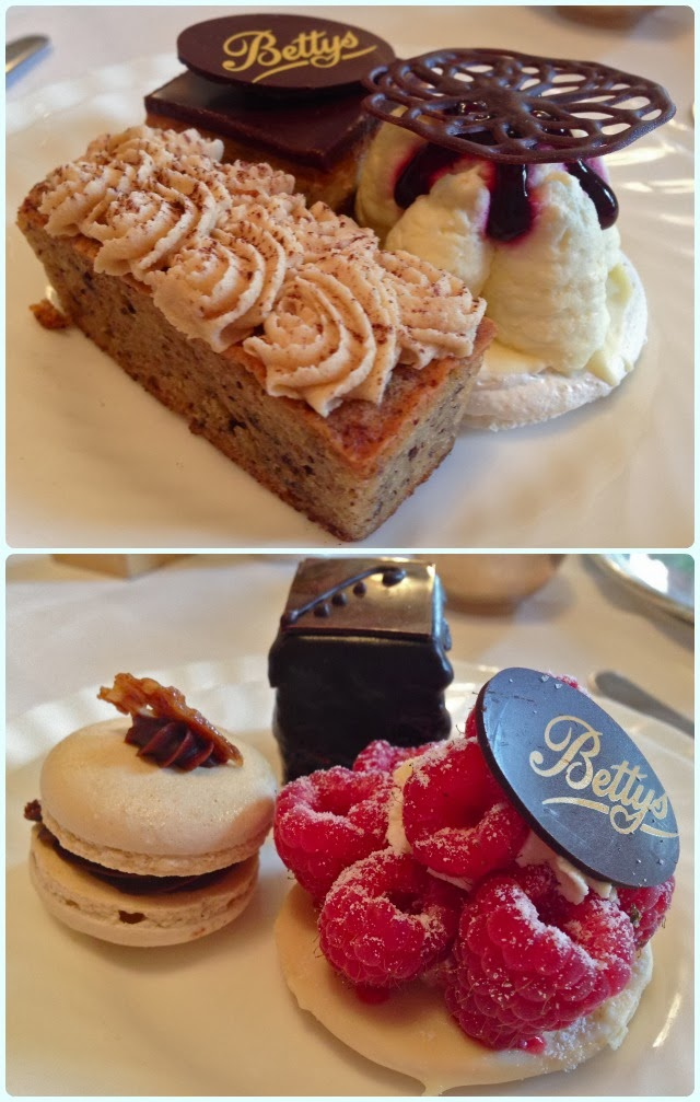Betty's Tea Room, York - Cakes