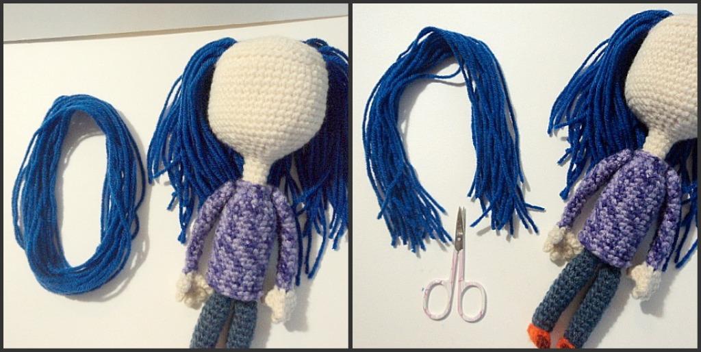 Coraline Doll Free Crochet Pattern Amigurumi To Go : Coraline Doll Free Crochet Pattern ~ Amigurumi To Go