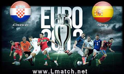 Live Ireland, Italy, Spain, Croatia Euro 2012 Live