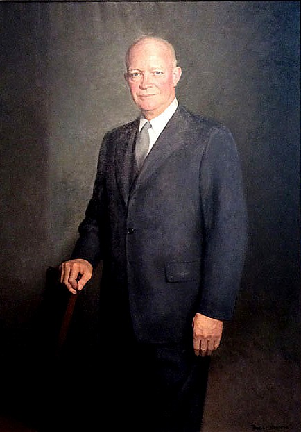Art now and then dwight d eisenhower portraits dwight d eisenhower thomas edgar stephens national portrait gallery washington dc publicscrutiny Image collections
