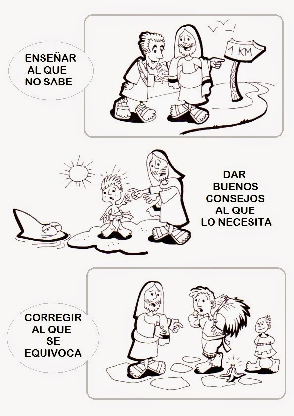 Holiday Coloring Pages abraham coloring pages : Las obras de misericordia para Niu00f1os: materiales para la catequesis ...