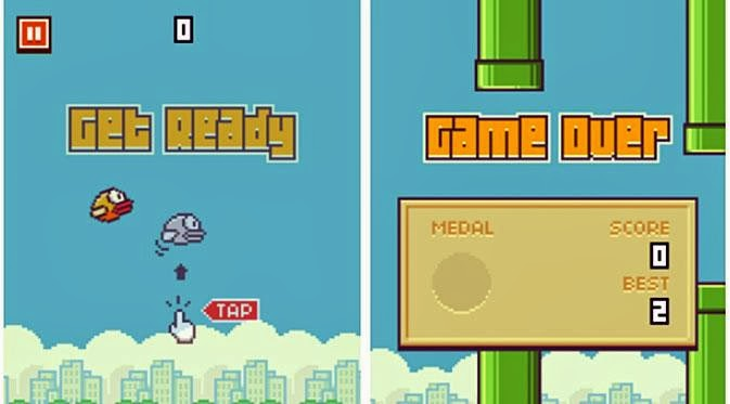 Tips Mudah Main Games Flappy Bird